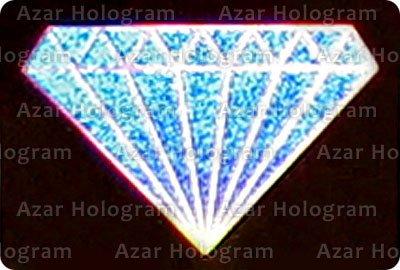 هولوگرام نقطه الماس