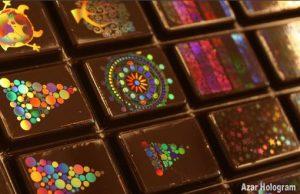 شکلات هولوگرام