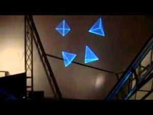 hologram on air 300x225 - هولوگرام در فضا